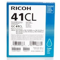 Tusz oryginalny ricoh gc-41cl 405766 błękitny - darmowa dostawa w 24h