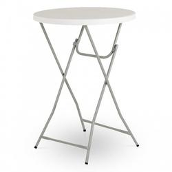 Stół cateringowy bankietowy bufetowy okrągły 80cm