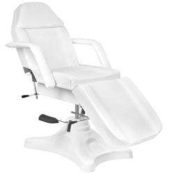 Fotel kosmetyczny hyd. a 234 biały