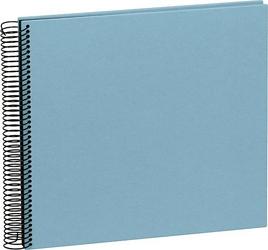 Album na zdjęcia Uni Economy czarne karty średni błękitny