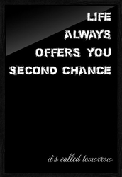 Second chance - plakat