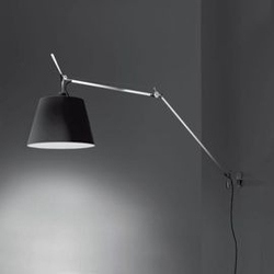 Artemide :: tolomeo mega parete czarna 36 on-off