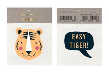 Tatuaże tygrys, meri meri