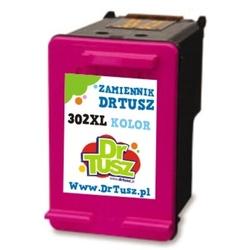Tusz zamiennik 302 xl do hp f6u67ae kolorowy - darmowa dostawa w 24h