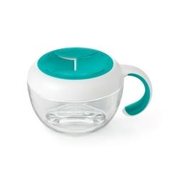 Pojemnik przekąski z uchwytem 250 ml oxo - teal