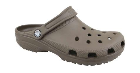 Klapki crocs classic 10001-200 3637 brązowy