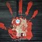 Fototapeta graffiti dłoń fp 1267