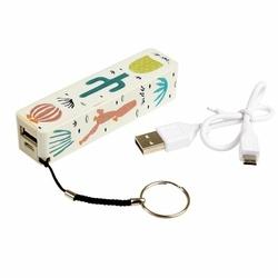 Power bank ładowarka USB, Kaktusy, Rex London
