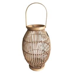 Lampion  latarenka rattanowa altom design 23 x 35 cm