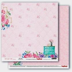 Ozdobny papier home sweet home - happy house - 02