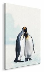 King Penguin - Obraz na płótnie