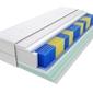 Materac kieszeniowy sparta multipocket 115x120 cm średnio twardy 2x lateks