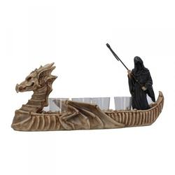 Mroczna łódź - zestaw z kieliszkami