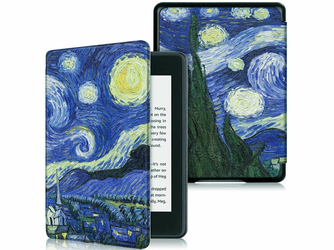 Etui Alogy Smart Case Kindle Paperwhite 4 Gwiaździsta noc van Gogh + Szkło - Gwiaździsta noc van Gogh