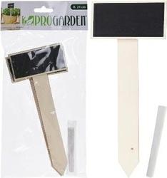 Tabliczki drewniane + kreda – 4 szt. pro garden