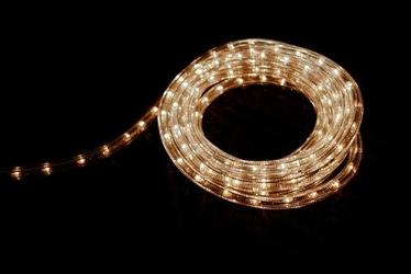 Wąż świetlny 720 mini żarówek, 20 m, ciepły biały