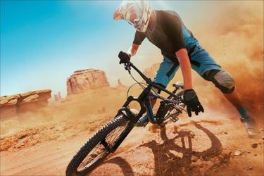 Fototapeta rower downhill 2557