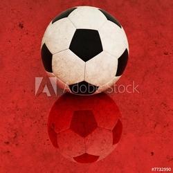 Obraz na płótnie canvas czteroczęściowy tetraptyk tło piłka nożna