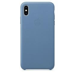 Apple Etui skórzane iPhone XS Max - chabrowe