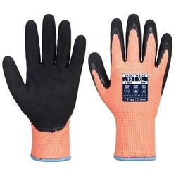 Antyprzecięciowa rękawica nitrylowa vis-tex winter hr a646 w wersji zimowej