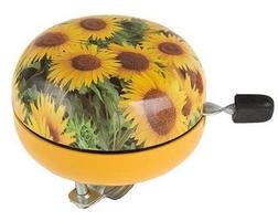 Dzwonek stalowy grafika słoneczniki