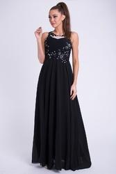 Evalola sukienka - czarny 10011-2