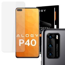 Szkło hartowane alogy na ekran do huawei p40 + 2x szkło alogy na obiektyw