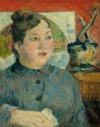 Madame alexandre kohler, paul gauguin - plakat wymiar do wyboru: 30x40 cm