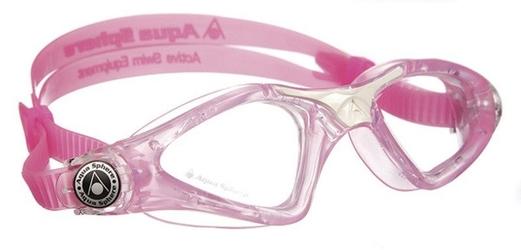 Aquasphere okulary kayenne junior jasne szkła, pink-white