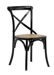 Drewniane krzesło bez podłokietników w stylu retro gallatin