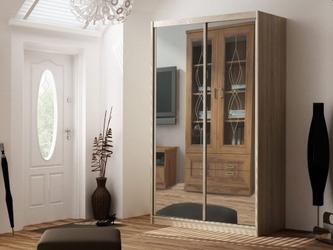 Szafa przesuwna z lustrem 2 drzwiowa karol