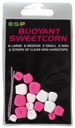 E-s-p kukurydza big sweetcorn różowa i biała sztuczna przynęta