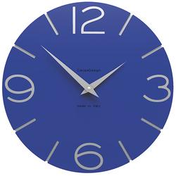 Zegar ścienny Smile CalleaDesign Electric Blue 10-005-75
