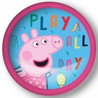 Lampka push na baterie świnka peppa pig led pink