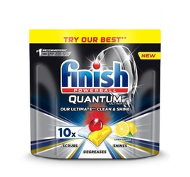 Finish quantum ultimate kapsułki do zmywarki 10 szt. lemon