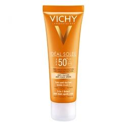 Vichy ideal soleil krem antypigmentacyjny lsf 50+