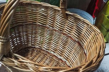 Eko-wik koszyczek wiklinowy na zakupy 40 x 30 cm