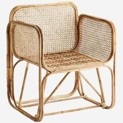 Madam stoltz :: fotel bamboo rattanowy naturalny szer. 69 cm