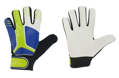Rękawice bramkarskie juniorskie vivo gk-1030 white-green-blue