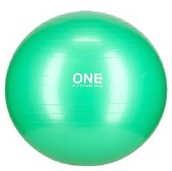 Piłka gimnastyczna gym ball 10 65 cm zielona - one fitness
