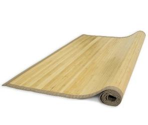 Mata bambusowa, dywanik bambusowy 180 x 240 cm, kolor naturalnego drewna