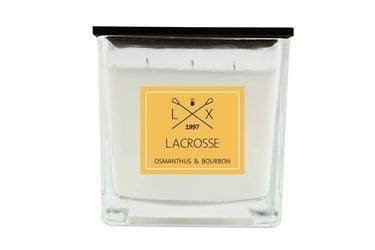 Świeca zapachowa osmanthus  bourbon 12x12 lacrosse - osmantus and bourbon