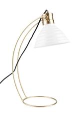 Orange line lampa stołowa curly biała 5200056