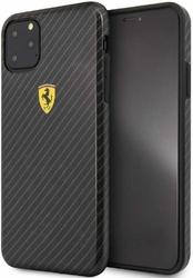 Etui ferrari hard case iphone 11 pro max on track carbon effect