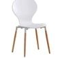 Krzesło nowoczesne k164 białe