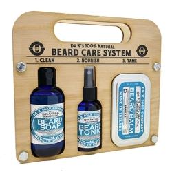 Dr k soap beard care system fresh lime - zestaw do pielęgnacji brody