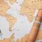 Mapka zdrapka – świat