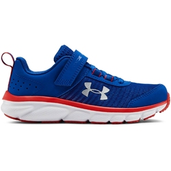 Buty biegowe dziecięce ua ps assert 8 ac - niebieski
