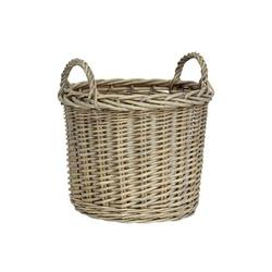 Koszyk wiklinowy okrągły mały ib laursen