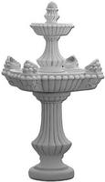Vb fontanna ogrodowa betonowa dwupoziomowa szyszka 160cm